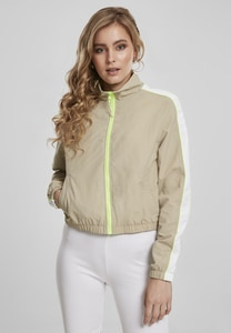 Urban Classics TB3414 - Ladies Short Piped Track Jacket