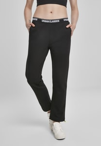 Urban Classics TB3418 - Ladies Logo Waistband Pants