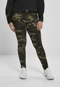 Urban Classics TB3424 - Ladies High Waist Camo Tech Leggings