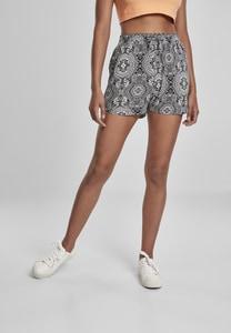 Urban Classics TB3435 - Ladies AOP Viscose Resort Shorts