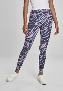 Urban Classics TB3443 - Ladies High Waist Tie Dye Leggings