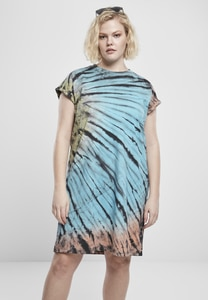 Urban Classics TB3448 - Ladies Tie Dye Dress