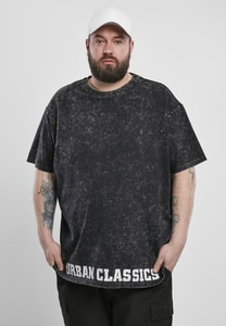 Urban Classics TB3475 - Acid Washed Logo Tee