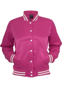 Urban Classics TB349 - Ladies Shiny College Jacket