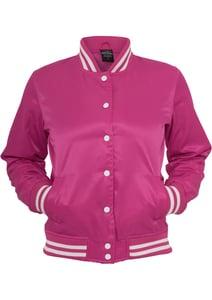 Urban Classics TB349 - Glänzende College-Jacke für Damen