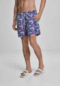Urban Classics TB3533 - Multicolor Swim Shorts