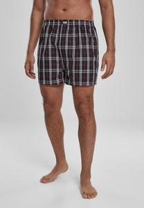 Urban Classics TB3543 - Woven Plaid Boxer Shorts 2-Pack