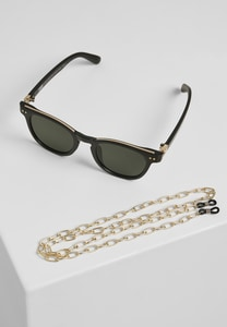 Urban Classics TB3551 - Sunglasses Italy with chain