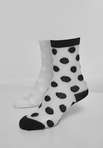 Urban Classics TB3599 - Net Socks Dots 2-Pack