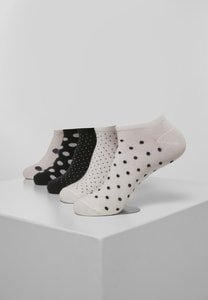 Urban Classics TB3602 - No Show Socks Dots 5-Pack