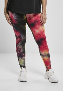 Urban Classics TB3658 - Ladies Tie Dye High Waist Leggings