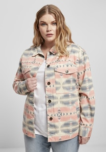 Urban Classics TB3661 - Ladies Inka Oversized Shirt Jacket