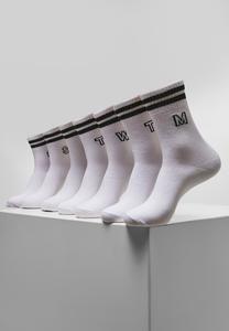 Urban Classics TB3741 - College Letter Socks 7-Pack