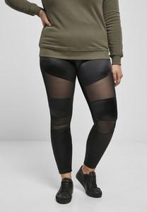 Urban Classics TB3790 - Ladies Shiny Tech Mesh Leggings