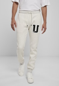 Urban Classics TB3812 - Pantalon de jogging Frottee Patch