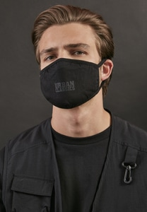 Urban Classics TB4065 - Urban Classics Cotton Face Mask 2-Pack