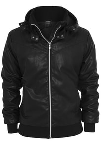 Urban Classics TB436 - Leather Imitation Jacket