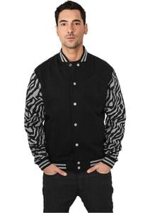 Urban Classics TB505 - 2-tone Zebra College Jacket