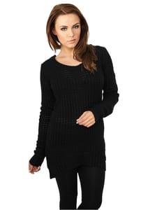 Urban Classics TB739 - Jersey largo cuello amplio para mujer