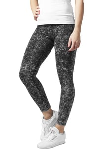 Urban Classics TB777 - Ladies Acid Wash Leggings