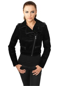 Urban Classics TB805 - Ladies Short Biker Jacket