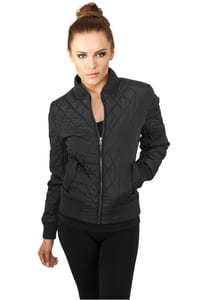 Urban Classics TB806 - Ladies Diamond Quilt Nylon Jacket