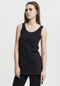 Urban Classics TB904 - Ladies Leather Imitation Side Knotted Tank