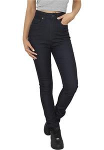 Urban Classics TB956 - Ladies High Waist Denim Skinny Pants