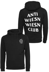 Mister Tee TU072 - Wiesn Club Black Hoody