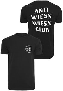 Mister Tee TU073 - Wiesn Club Zwart T-shirt