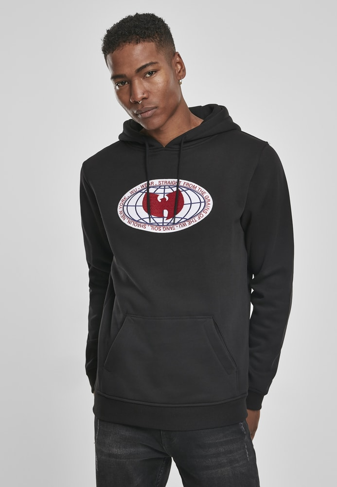 Wu-Wear WU052 - Wu-Wear Globe Patch Hoody