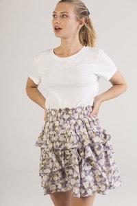 IVIVI 1SK3 - Ruffled skirt