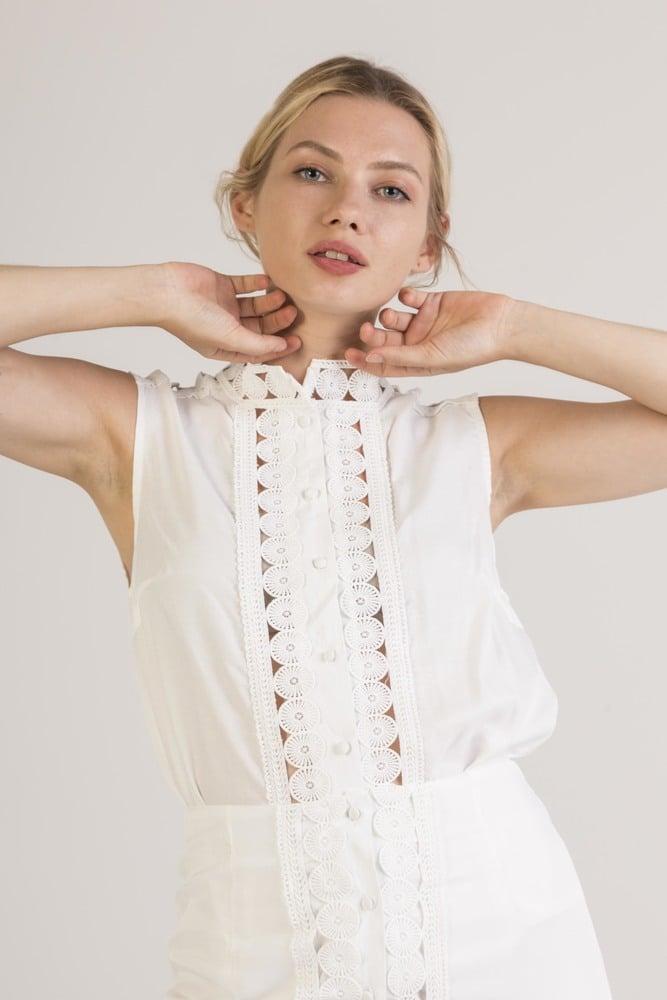 ELENZA 1TP20 - Romantic shirt