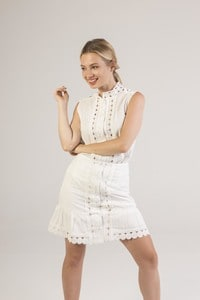 LUC&CE 1SK6 - Skirt with lace