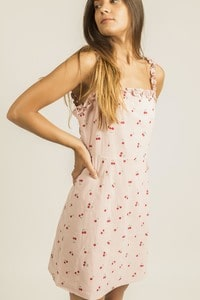 EIGHT PARIS 1DS5 - Cherry print dress