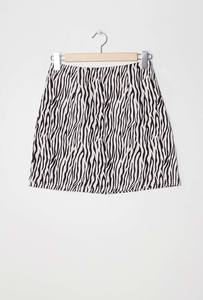 LUC&CE 1SK12 - Printed skirt zebra