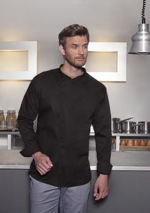 Karlowsky BJM 4 - Long-Sleeve Throw-Over Chef Shirt Basic