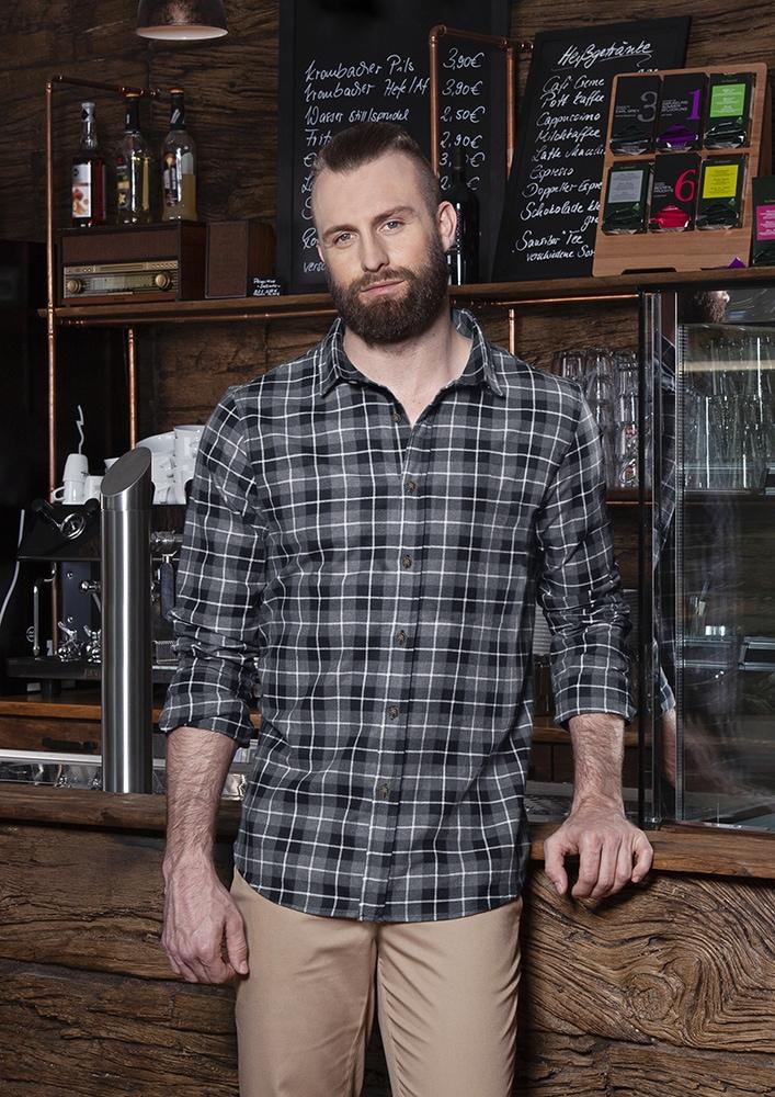 Karlowsky BM 7 - Men's Checked Shirt Urban-Flair