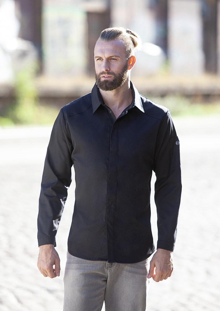 Karlowsky JM 27 - Chef Shirt Modern-Edge