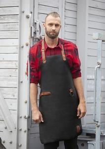 Karlowsky LS 23 - Leather Bib Apron 60 x 82 cm