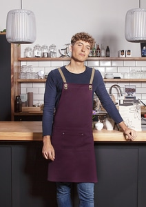 Karlowsky LS 39 - Bib Apron Urban-Nature with Cross Straps and Big Pocket 70 x 85 cm