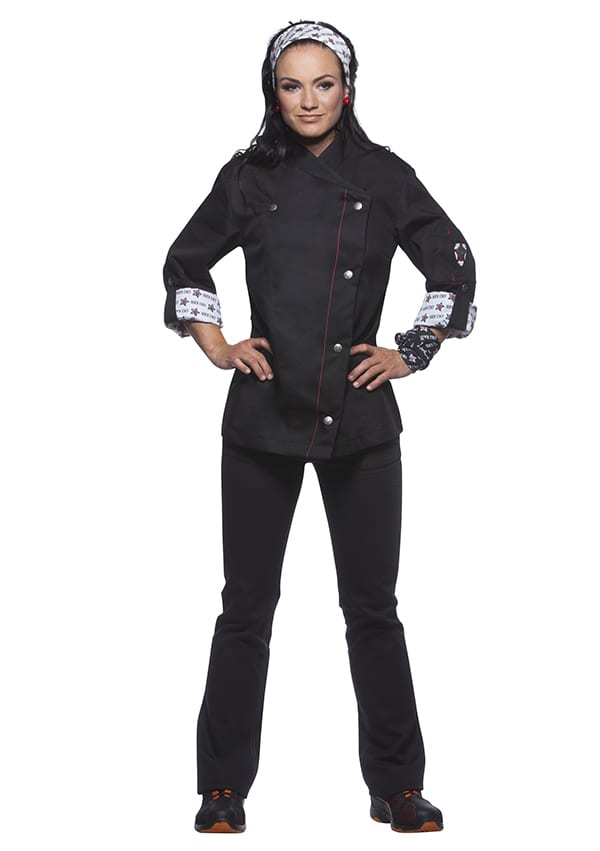 ROCK CHEF RCJF 2 - Ladies' Chef Jacket