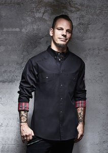 ROCK CHEF RCJM 16 - Kochhemd ButtonDown Stage2