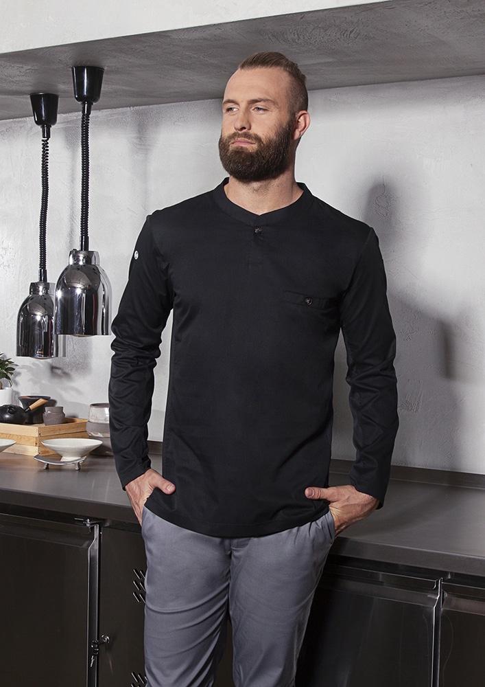 Karlowsky TM 6 - Long-Sleeve Work Shirt Performance