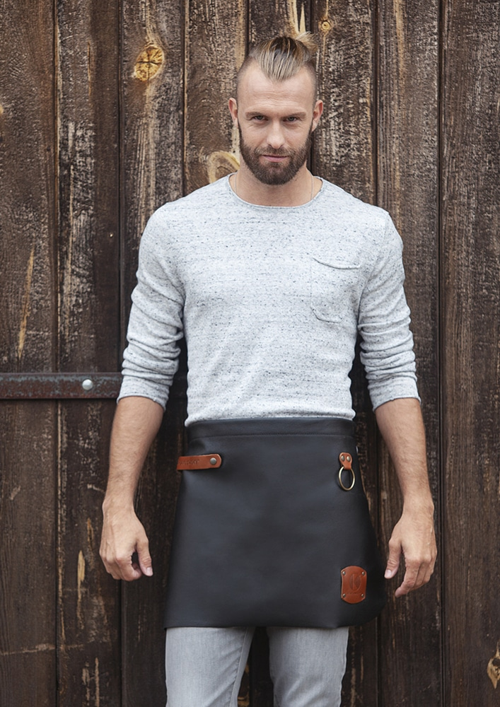 Karlowsky VS 8 - Leather Waist Apron 59 x 40 cm