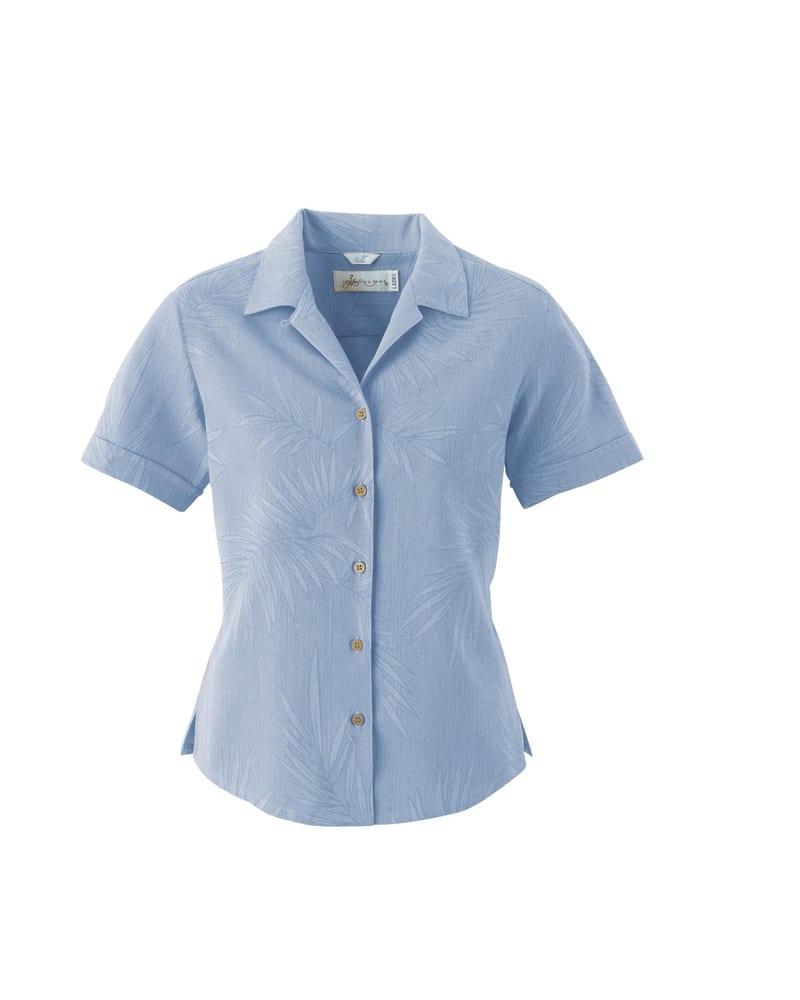 Il Migliore 77017 - Ladies Silk Large Jacquard Shirt