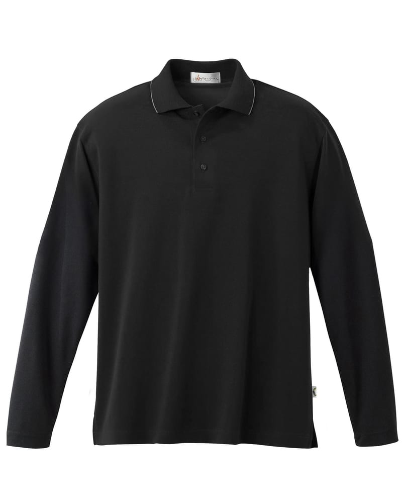 Il Migliore 95037 - MEN'S TACTEL® CUSTOM LONG SLEEVE PIQUE POLO