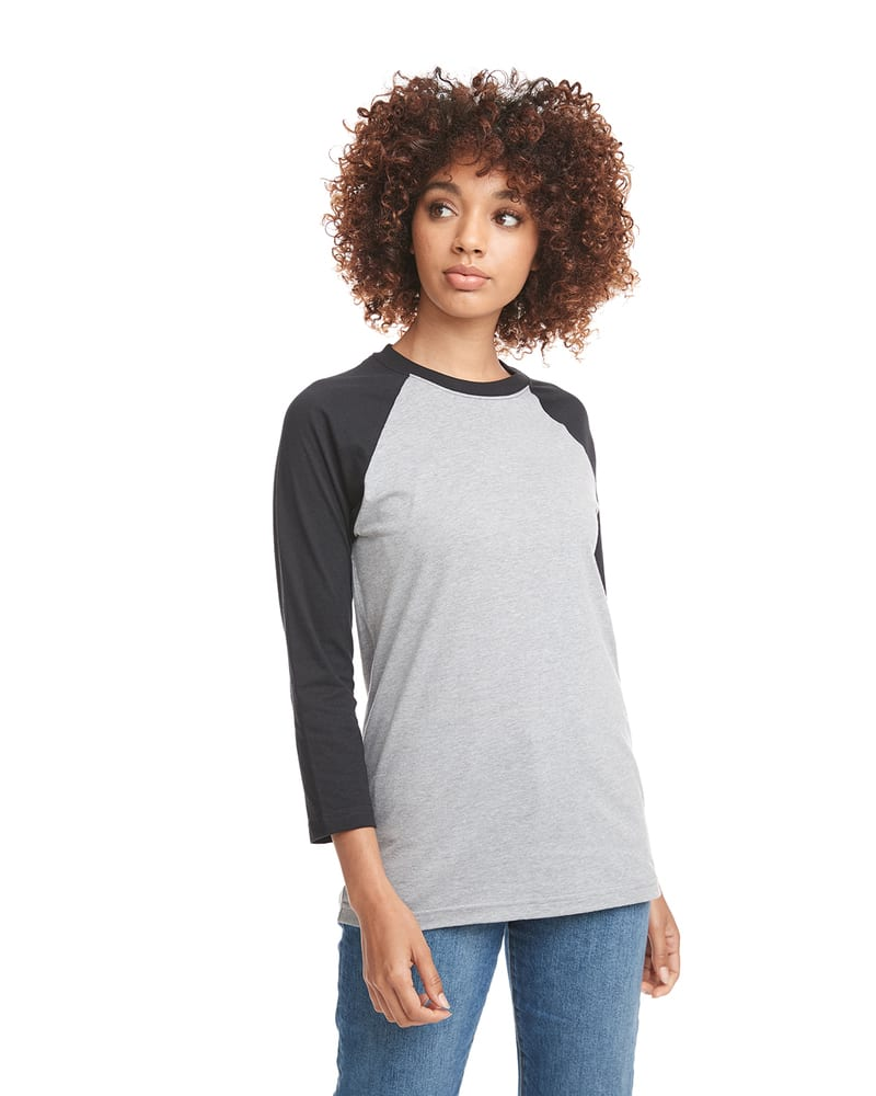 Next Level 6251 - Unisex CVC 3/4 Sleeve Raglan Baseball T-Shirt
