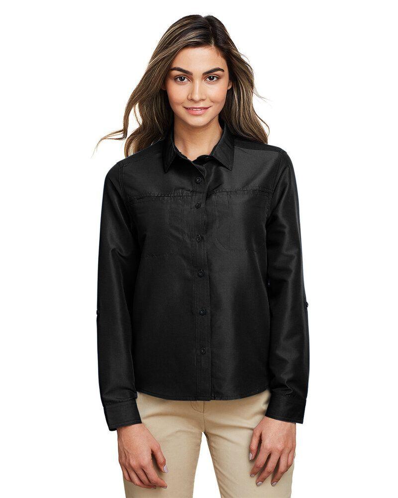Harriton M580LW - Ladies Key West Long-Sleeve Performance Staff Shirt