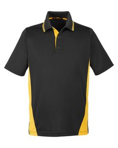 Harriton M386T - Polo Flash Snag Protection Plus Il Colorblock pour hommes de grande taille